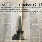 Moose Lake Forest Fire of 1918