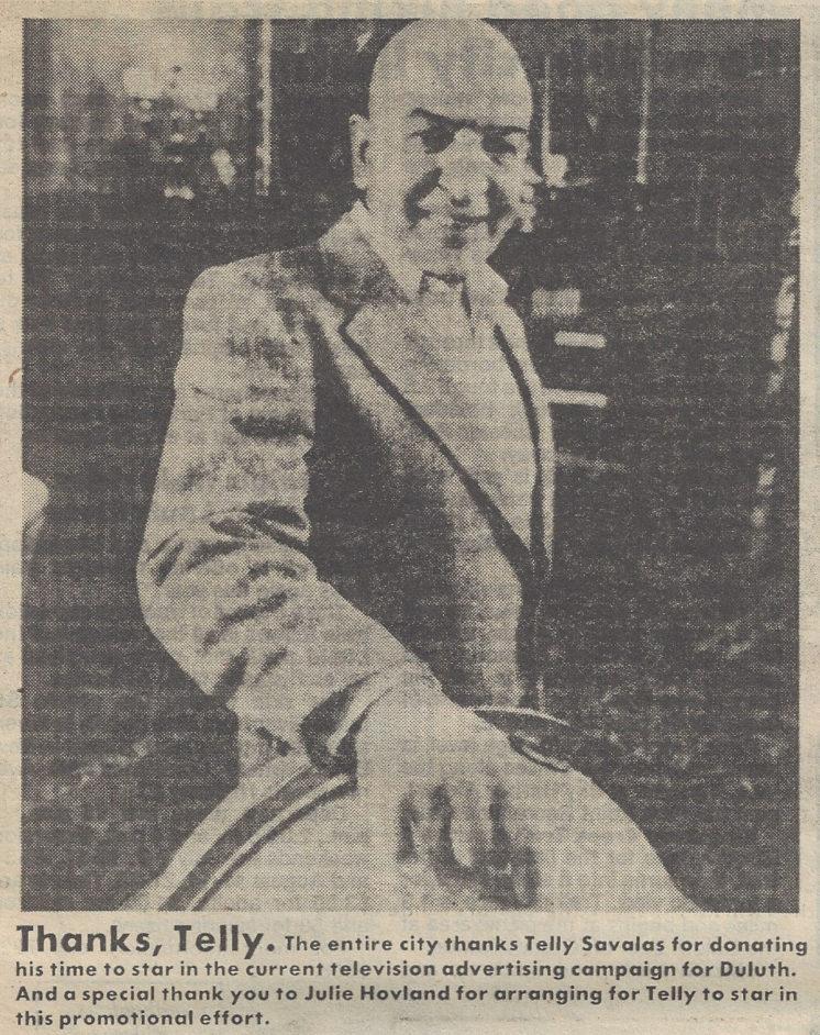 Telly Savalas Duluth