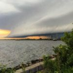 Images of Saturday's amazing storm cloud over Duluth