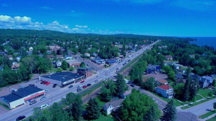 Duluth Lakeside Aerial Photo 2016