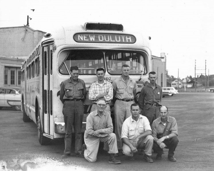 DTA Bus 1962 New Duluth