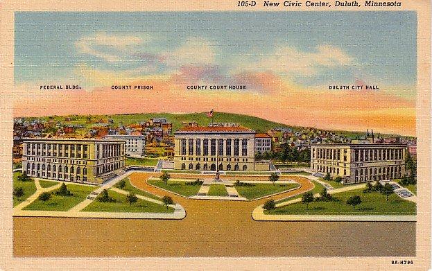 Duluth Civic Center 1938