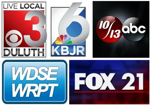 Duluth TV station logos