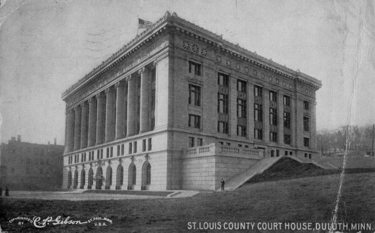 St. Louis County Courthouse circa 1910