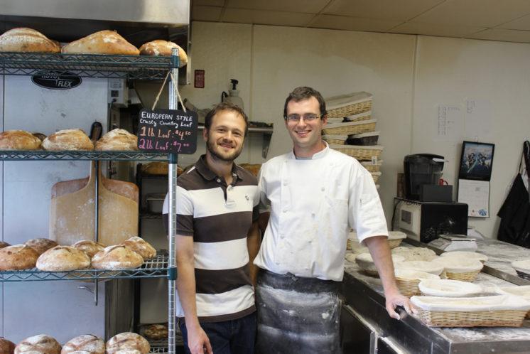 Robert and Michael Lillegard