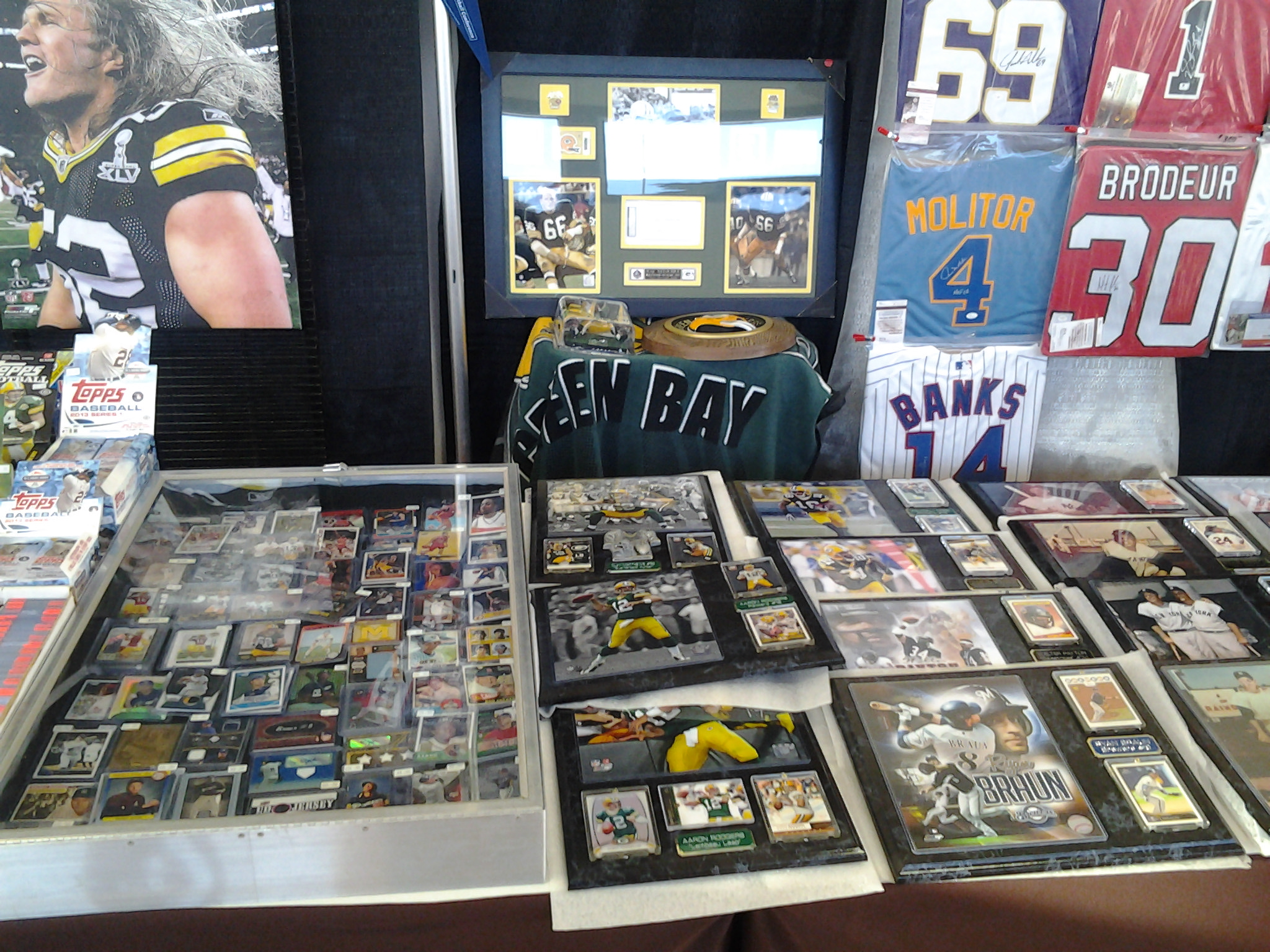 Sports Card Collectibles Show Perfect Duluth Day