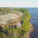 Castle Danger and Lake Superior Aerial Video