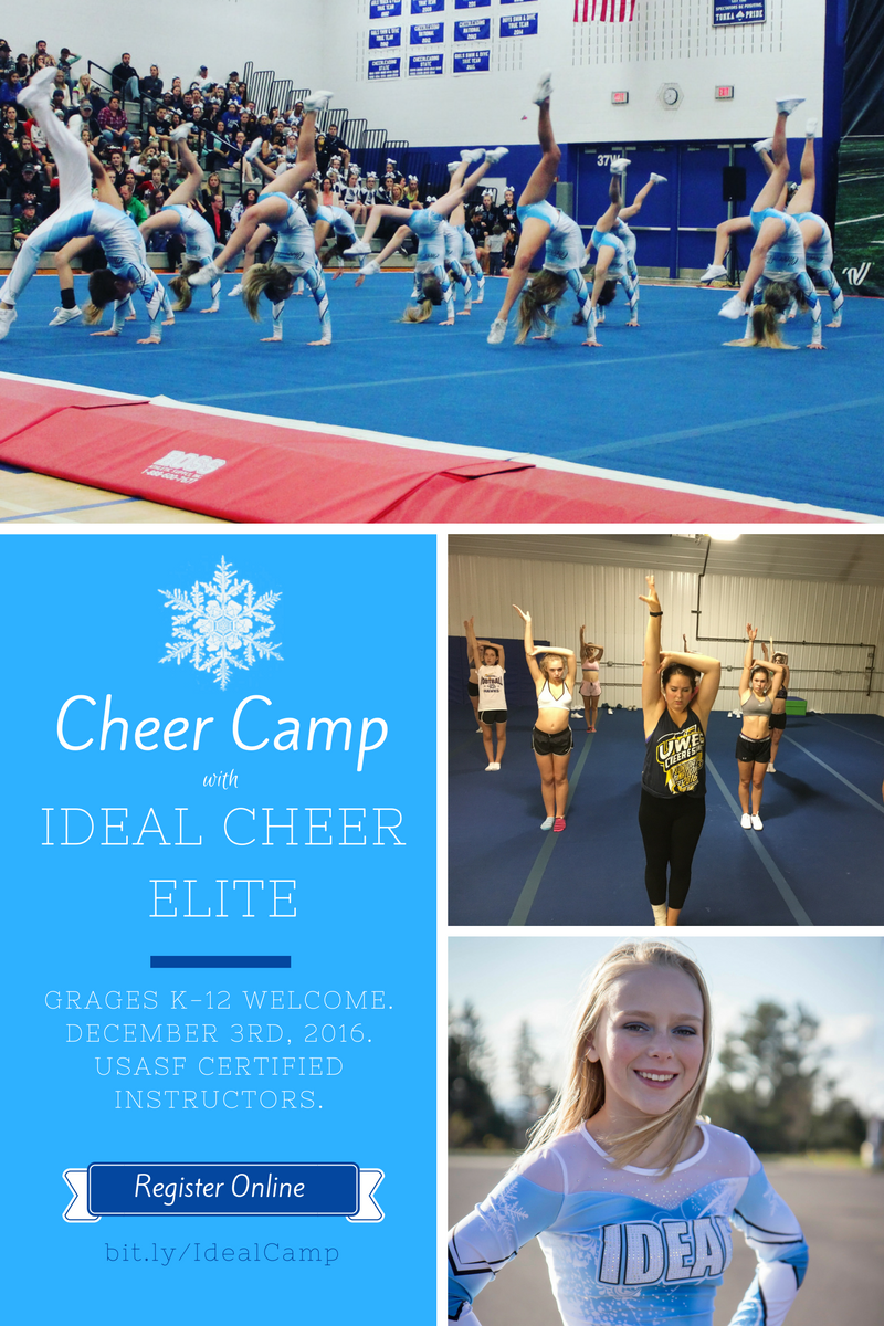 One-day Cheer Camp - Perfect Duluth Day