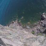 Climbing Palisade Head