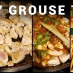 Ruffed Grouse Tacos