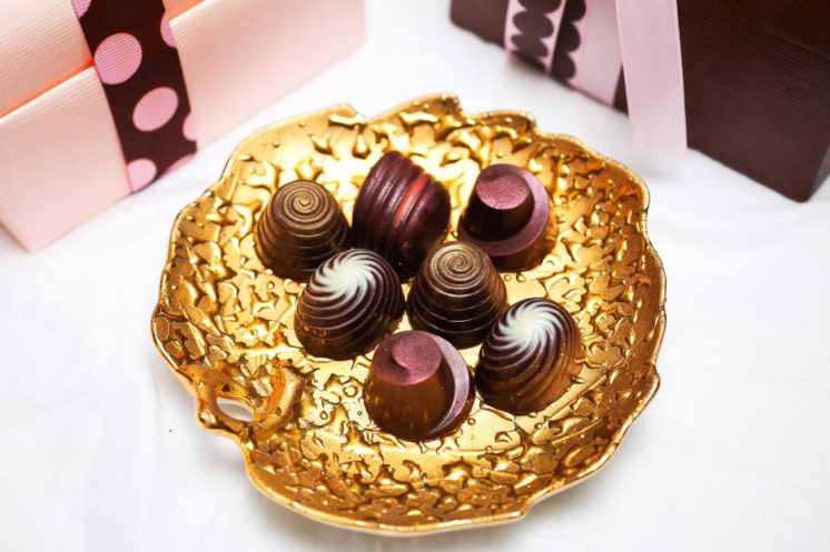Truffle assortment and gift boxes