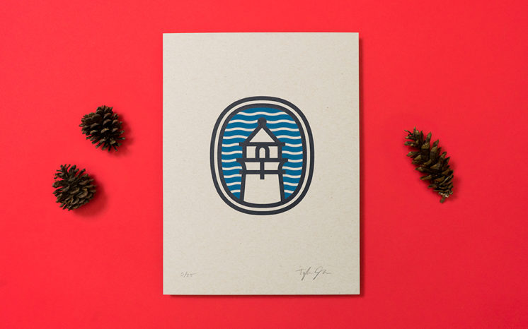 Introducing the Lighthouse, a new limited edition screen print by Stack cofounder Tyler Johnson.