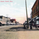 Postcard from Central Avenue and Ramsey Street