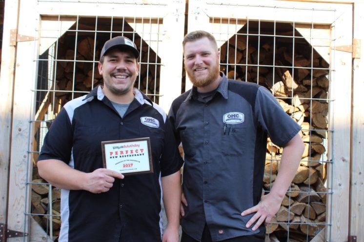 Louis Hanson and Jeff Petcoff, OMC Smokehouse managing partners