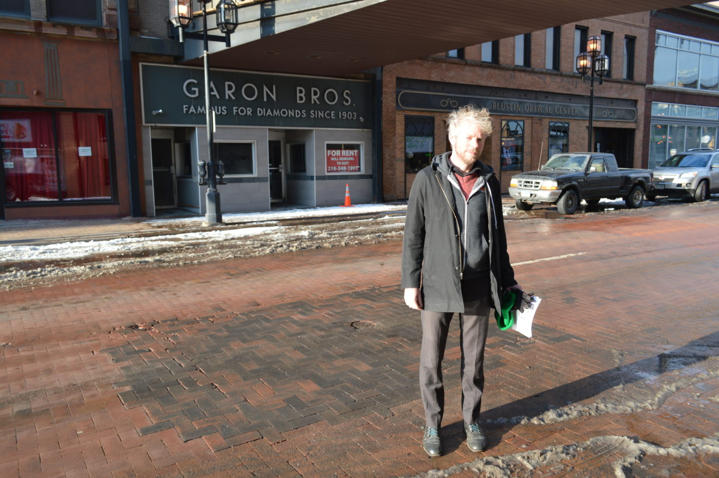 Bob Monahan Launches Downtown Duluth Hostel Project