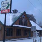 Island Lake Inn closed, for sale