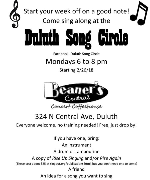 Duluth Song Circle - Perfect Duluth Day
