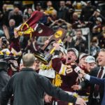 Selective Focus: 2018 Frozen Four Champion UMD Bulldogs