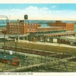 Postcard from the McDougall Terminal Building in Duluth