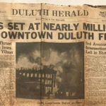 Duluth Rudolph's Furniture Store Fire of 1948