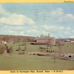 Postcard from Fairmount Park in 1948