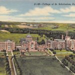 Postcard from the College of St. Scholastica, 1948