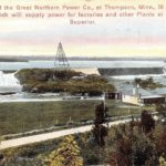 Postcard from Thomson Dam Hydro Station