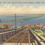 View from Top of Famous Incline Railway, Duluth, Minn.