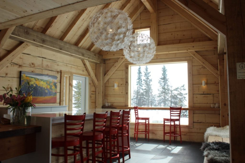 New café entryway - Photo by Lissa Maki