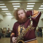 UMD All Hockey Pep Band Hair Team