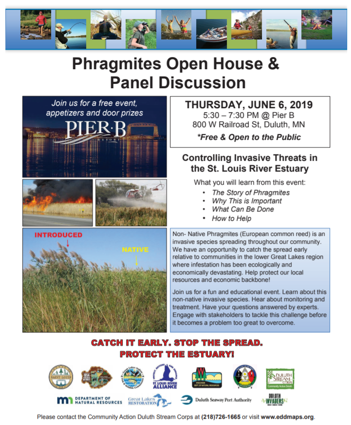 Phragmites Open House and Panel Discussion - Perfect Duluth Day