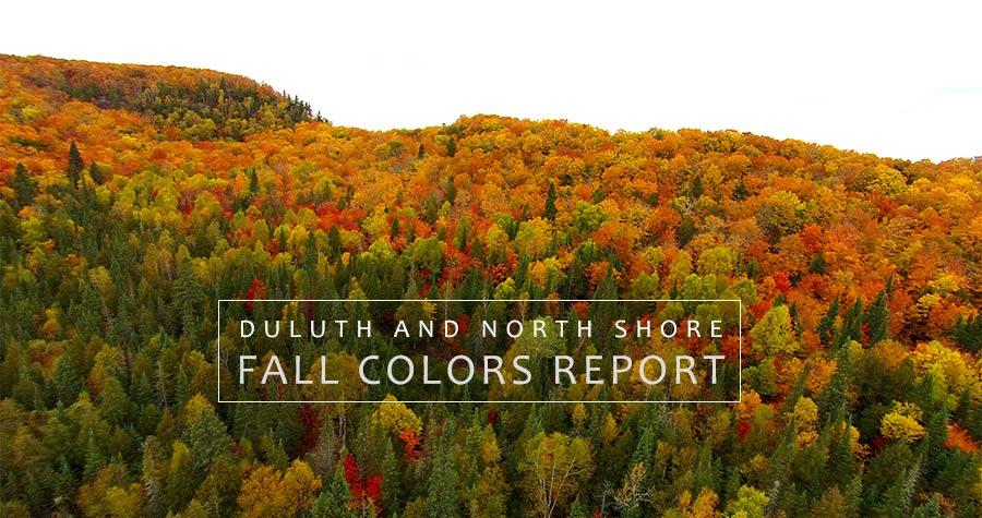 North Shore Fall Colors Report