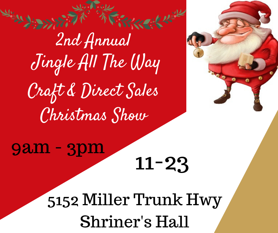 Christmas Craft Show Items.Jingle All The Way Craft And Direct Sales Christmas Show