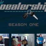 "TV pilot for ""The Dealership"" set at Kari Toyota in Superior"