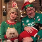 Christmas Greetings from Aunt Lois and Uncle Hermie