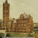Postcard from Central High School in 1910