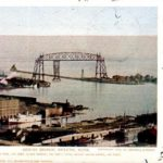 Postcard from the Aerial Bridge in 1905