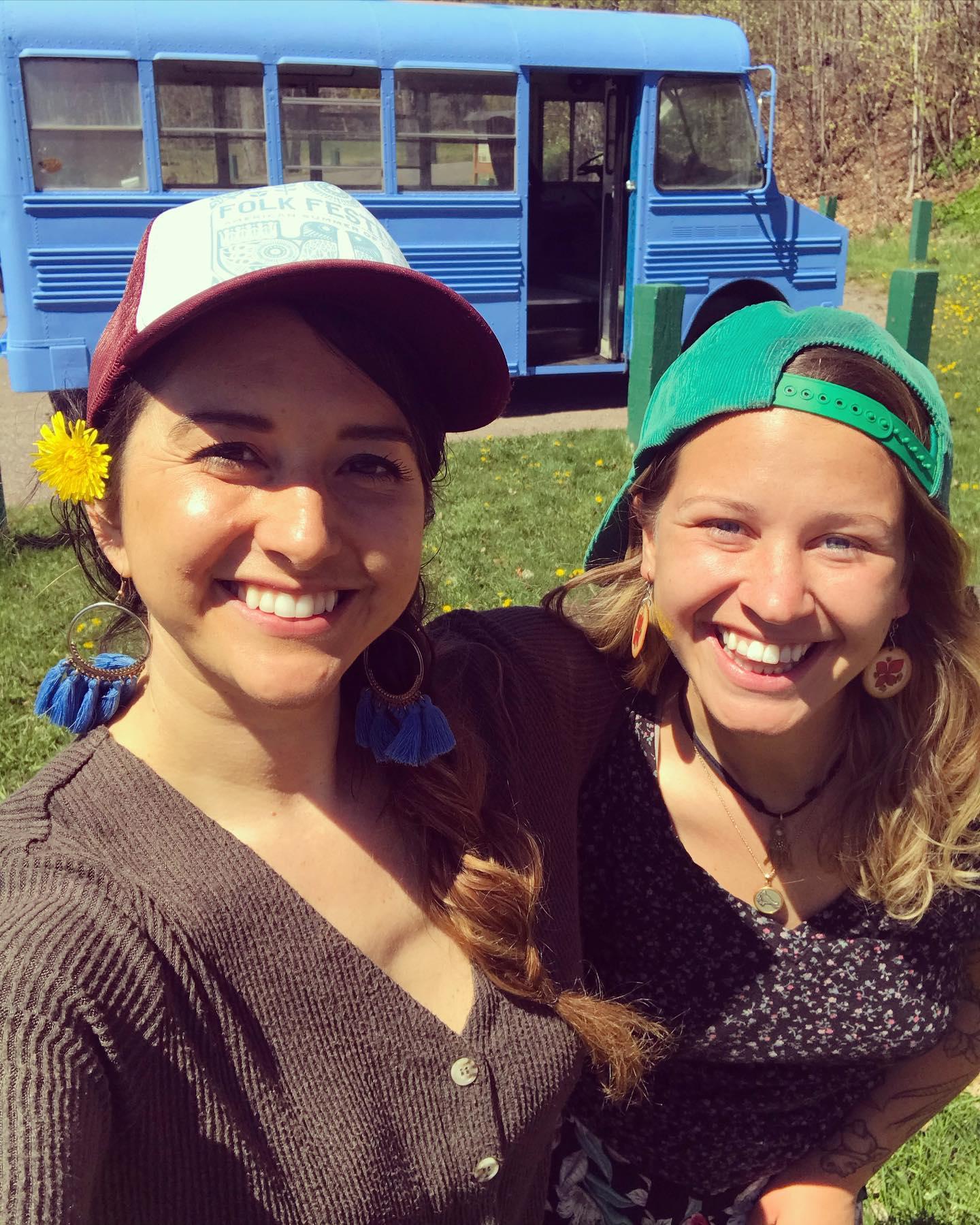 Desiree Jenkins and Melanie Hallstein