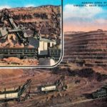 Postcard from Mesabi Open Pit Iron Mine in Virginia