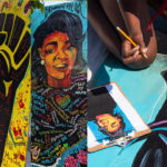 Selective Focus: Community Mural at the CJM Memorial