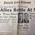The War Years: Duluth News from Above the Fold