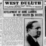 West Duluth Gardens of 1920
