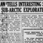 Dwight Woodbridge's 1920 Sub-Arctic Exploration
