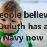 Duluth Navy Meme