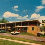 Postcard from London Manor Motel
