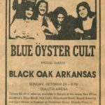 Duluth Concert Archive: Blue Oyster Cult in 1977