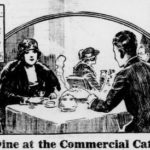 Commercial Cafe opens under new management in 1921