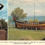 Postcard from the Leif Erikson Statue and Viking Ship