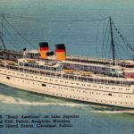 Postcard from the Passenger Steamer South American