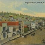 Postcard from Superior Street in 1871